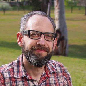 Portrait of Simon Wright